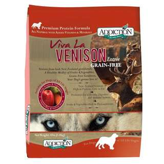 [NEW] Addiction Venison Kibbles