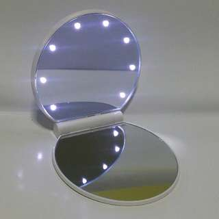 Foldable LED Lights Mirror