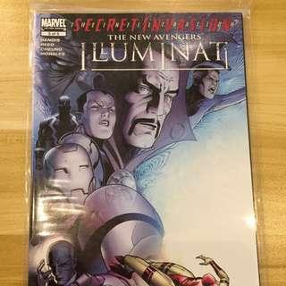 Marvel Secret Invasion The New Avengers Illuminati #5