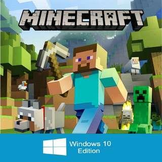 [GENUINE]Minecraft Windows 10 Edition Key