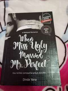 novel when miss ugly married mr.perfect