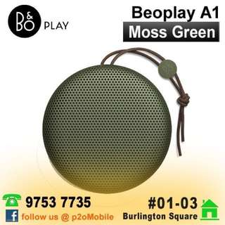 B&O Beoplay A1 Portable Bluetooth Speaker Moss Green