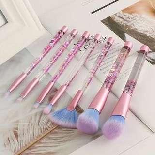 Unicorn Themed Makeup Brushes