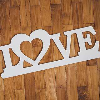 LOVE Wooden Sign For Rental