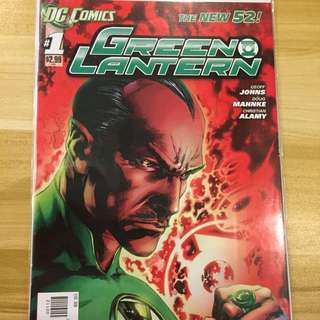 DC New 52 Green Lantern #1