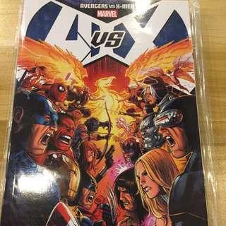 Marvel Avengers Vs X-Men Trade Paper Back Vol 1