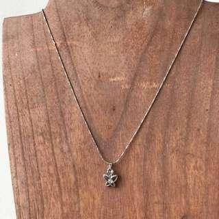 Kalung cantik Korean necklaces seperti emas putih #123moveon