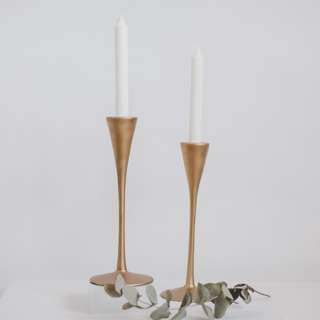 Golden Candle Holders For Rental