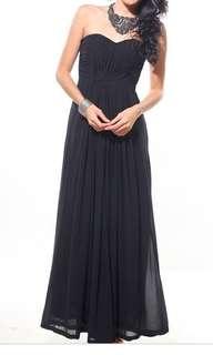 Love Bonito Tashe Maxi Dress in Black