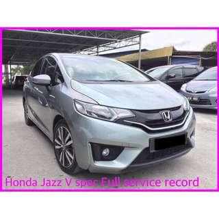 2015 Honda Jazz 1.5 (A) V 5 YEAR WARANTY BY HONDA