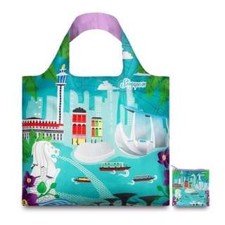 BRAND NEW LOQI Singapore by Melissa Mackie Tote Bag - LOQI URBAN Collection