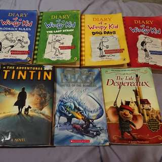 Used story books