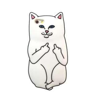 全新 中指猫iPhone6/6s 4.7吋手機殻
