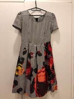 Kenzo 100% Silk Dress