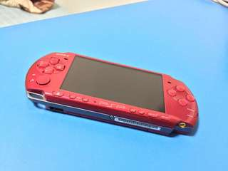 Limited Red - Sony PSP 3000