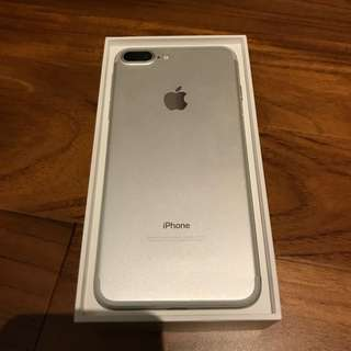 IPHONE 7+ SILVER 256 GB