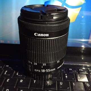 Lens canon EFS 18-55mm