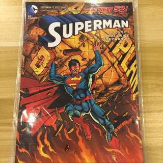 DC New 52 Superman Trade Paper Back Volume 1