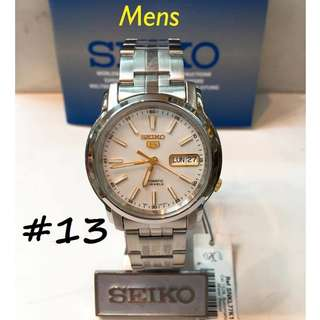 SEIKO 5 AUTOMATIC 21 JEWELS WATCHES .,,.