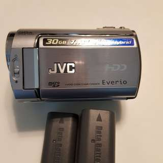 Jvc hdd camcorder everio 30gb