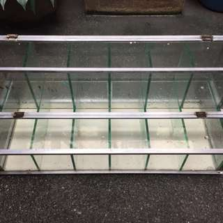 Glass stante for candies