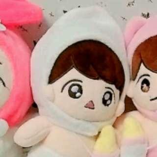EXO Baekhyun Doll 15cm angelbaek