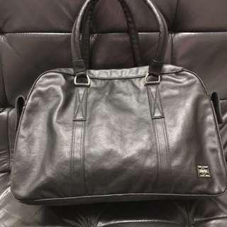 全新 Porter 黑色 單肩 手提包 有單 購自日本