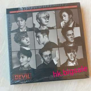 [淨專] Super Junior - Devil - $25