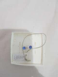 Swarovski element earring