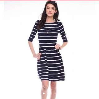 BN Cotton Stripe Dress