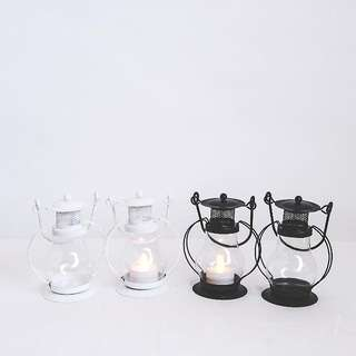 Battery Tealight Candle Lanterns For Rental