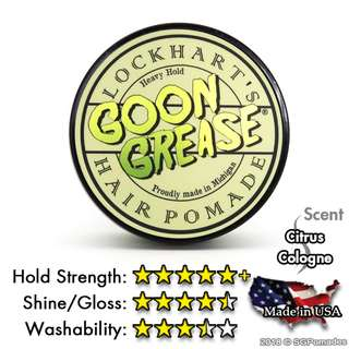 (Free mail) Lockhart's Goon Grease Heavy Hold