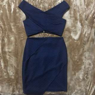 Miss Selfridge Midnight Blue Set 💙