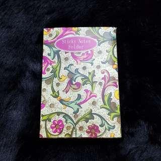 NEW Sticky Notes Folder (Green/Pink)