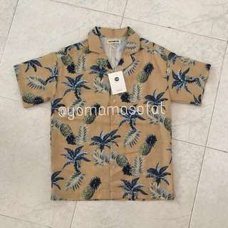 🆕🇰🇷🍍 Ulzzang Chic Pineapple Top