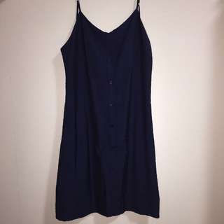 Navy Blue Dress Editor's Market S