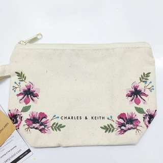 Brand new charles and keith make up pouch