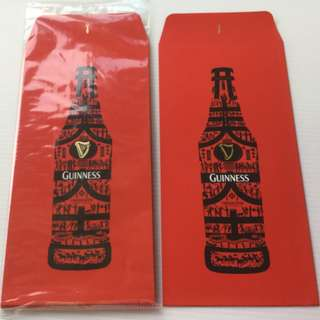 Guinness scout beer red packet