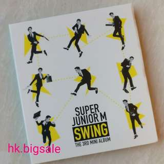 [淨專] Super Junior M - Swing - $20