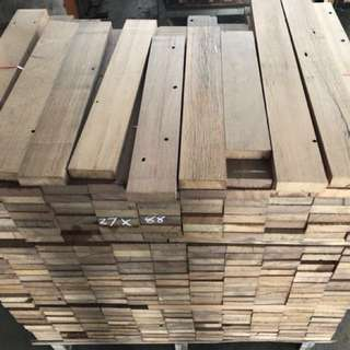 Balau recycled wood