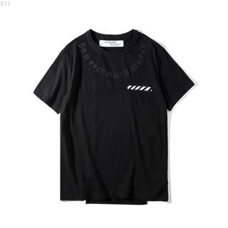 Off White Pitch Logo T-Shirt black