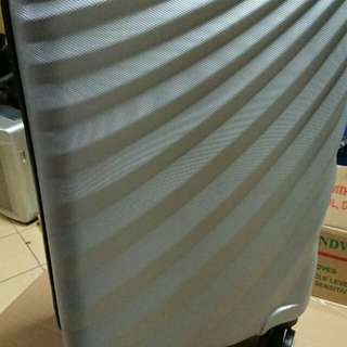 ABS 20吋銀色行李箱