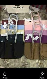 Lacoste long handle bag  sale!🔥🔥