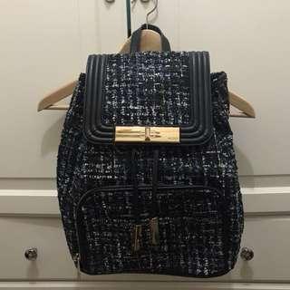 ALDO Tweed Backpack