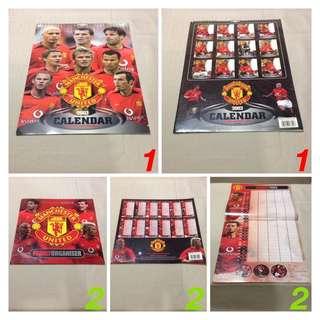 Manchester United Calendar and Organiser