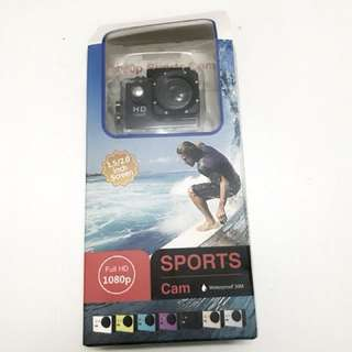 [Sports Cam]Full HD 1080P Waterproof Sports Action Camera 2.0 inch LCD
