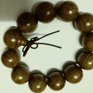 黃花梨 木珠鏈