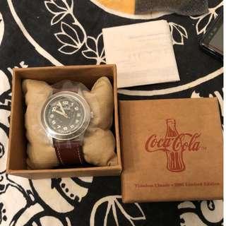 可口可樂限量紀念手錶