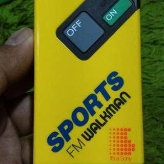 Vintage Sony Sport Walkman