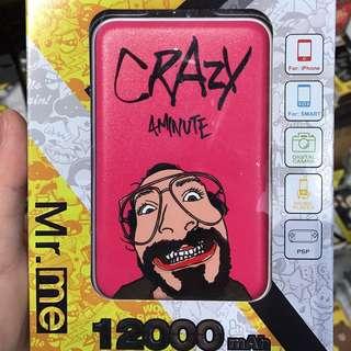 Crazy充電器12000mAh